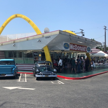 The Golden Arches in Downey